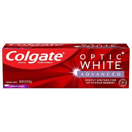 Colgate Optic White Advanced Teeth Whitening Toothpaste Vibrant