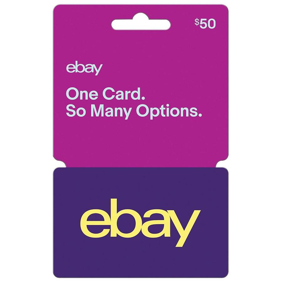 Ebay Gift Card 50 Walgreens