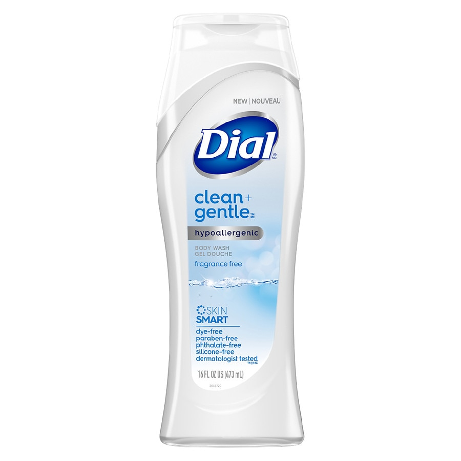 Dial Fragrance Free Clean + Gentle Body Wash