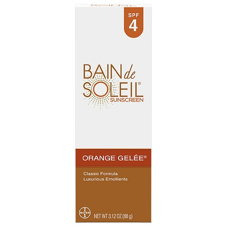 Bain de Soleil Orange Gelee Sunscreen SPF 4 - 3.12 oz.