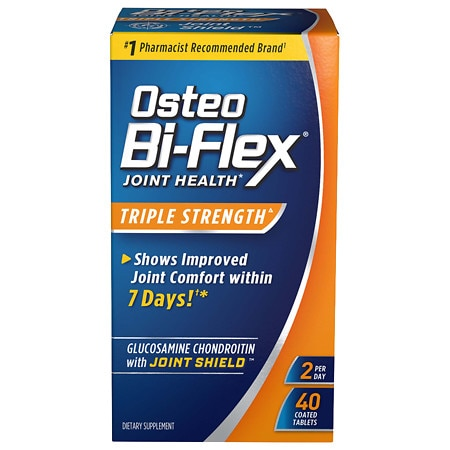 Osteo Bi-Flex Glucosamine Chondroitin plus Joint Shield
