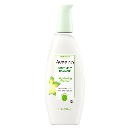 Image result for AVEENO Positively Radiant Brightening Cleanser