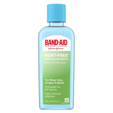 Band-Aid First Aid Hurt-Free Antiseptic Wash Treatment - 6 fl oz