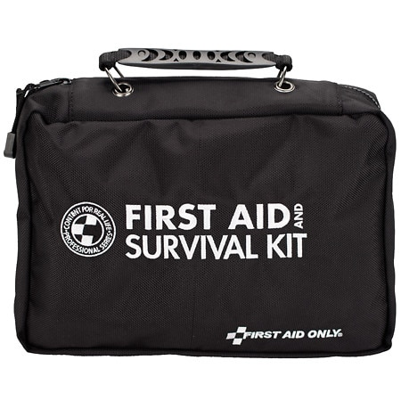 First Aid Only Deluxe Survival First Aid Kit 168 pieces - 1 ea