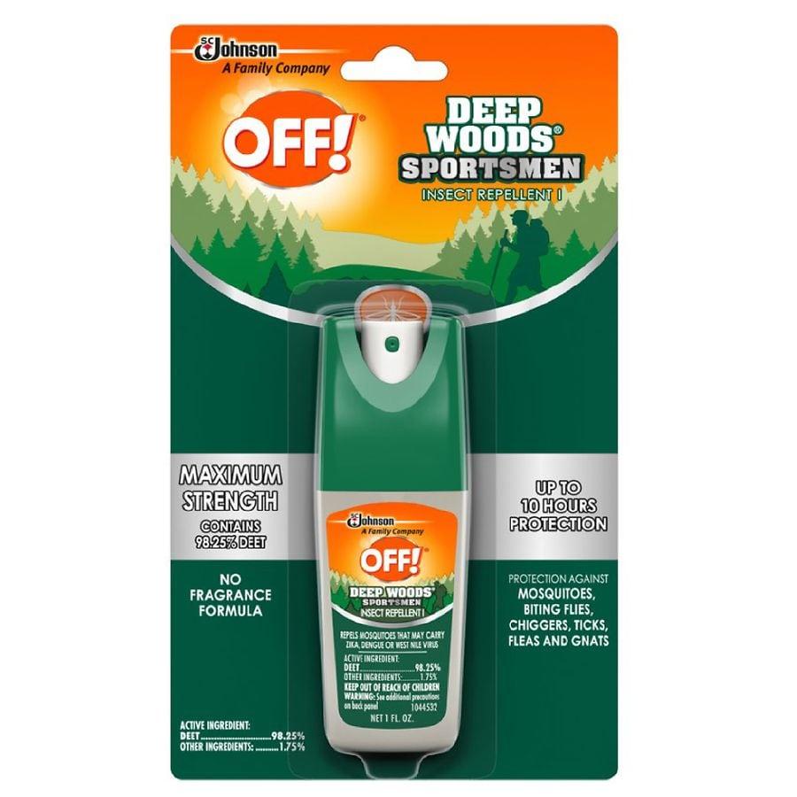 Deep Woods Off! Deep Woods Sportsmen Insect Repellent I Spray