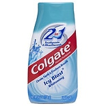 Colgate 2-in-1 Whitening Toothpaste Gel and Mouthwash, Icy Blast Icy Blast