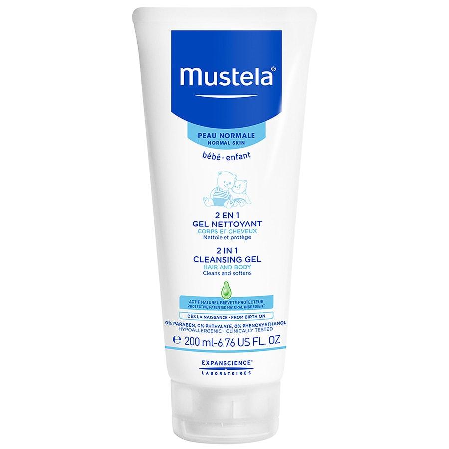 Mustela Bebe 2 In 1 Hair And Body Wash 6.76 Fl. Oz. 200ml