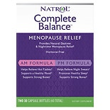 Natrol Complete Balance For Menopause AM & PM Dietary Supplement Capsules