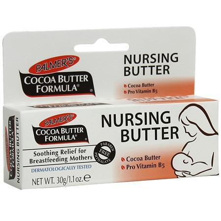 Palmer's Cocoa Butter Formula, Nursing Cream with Pure Cocoa Butter & Pro Vitamin B5 - 1.1 oz.