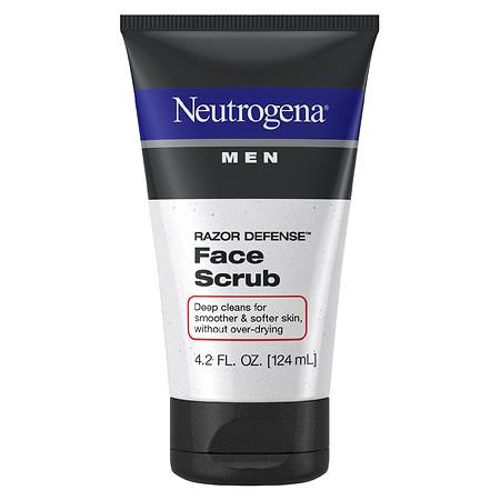 Neutrogena Men Men Razor Defense Face Scrub - 4.2 fl oz