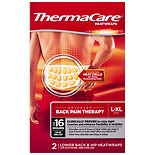 ThermaCare Advanced Lower Back & Hip Pain Therapy Heatwraps (L-XL), Up to 16HR of Pain Relief L-XL