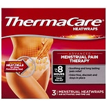 ThermaCare Advanced Menstrual Pain Therapy Heatwraps, Up to 8HR Pain of Relief