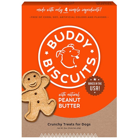 Cloud Star Original Buddy Biscuits Peanut Butter