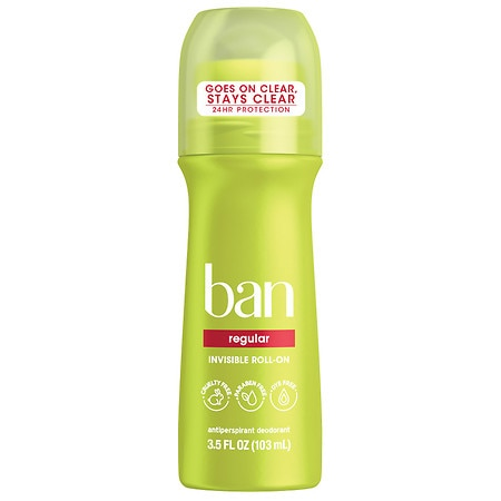 Ban Roll-On Antiperspirant & Deodorant Regular