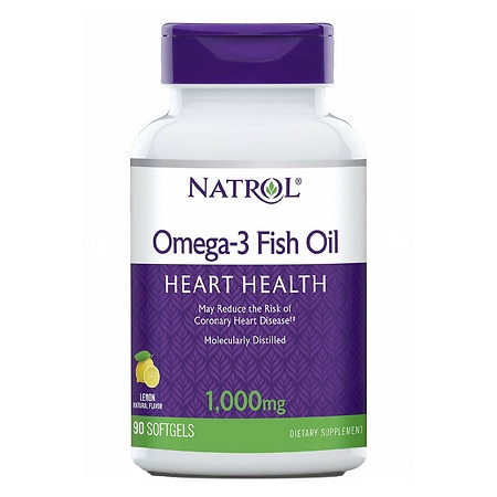 Natrol omega 3 fish oil 1000 mg walgreens for Is omega 3 fish oil