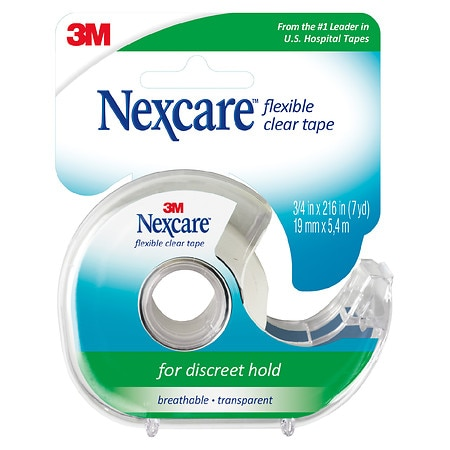 Nexcare Flexible Clear First Aid Tape