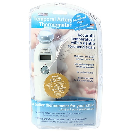 Exergen Temporal Artery Thermometer Walgreens