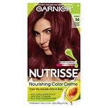 Garnier Nutrisse Nourishing Hair Color Creme 56 Medium Reddish Brown (Sangria)