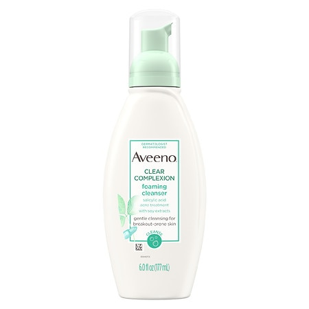 Aveeno Clear Complexion Foaming Facial Cleanser - 6 fl oz