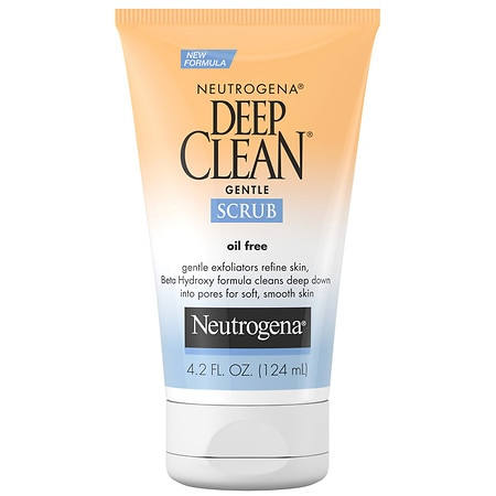 Neutrogena Deep Clean Gentle Facial Scrub - 4.2 fl oz