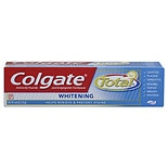 Colgate Total Anticavity Fluoride and Antigingivitis Whitening Toothpaste