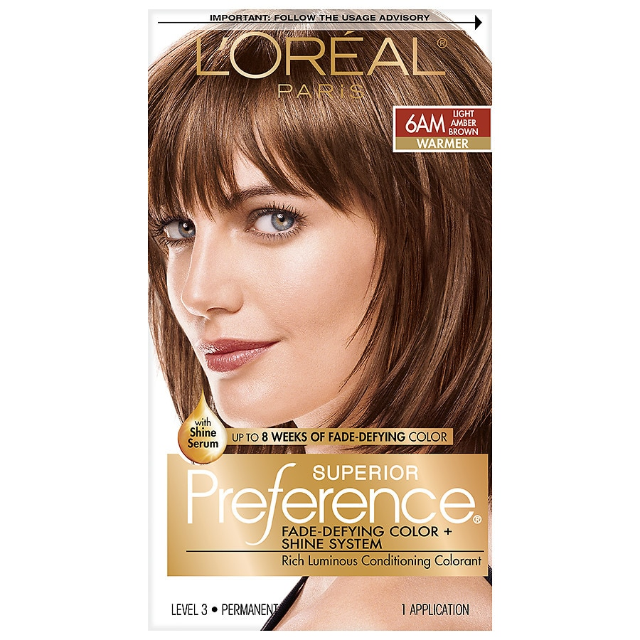 Loreal Paris Superior Preference Permanent Hair Colorlight Amber