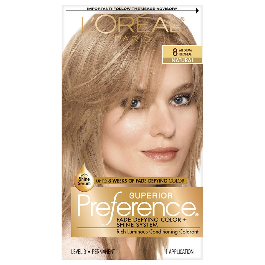 Loreal Paris Superior Preference Permanent Hair Colormedium Blonde