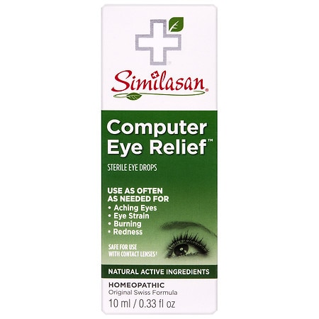 Similasan Computer Eye Relief Eye Drops - 0.33 fl oz