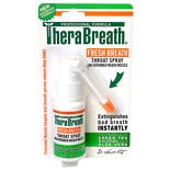 TheraBreath Fresh Breath Throat Spray with Green Tea Xylitol & Aloe Vera