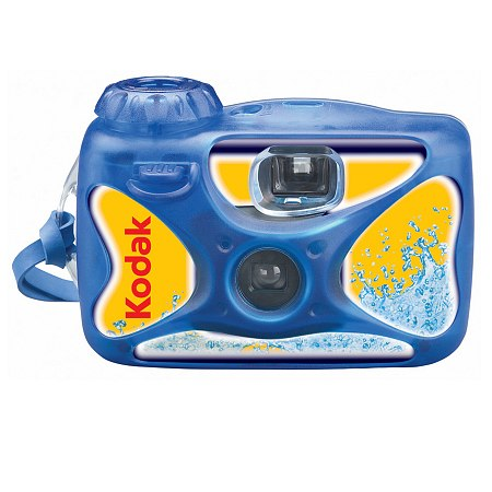 Kodak Waterproof Single Use Camera Underwater Disposable - 1 ea