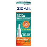 Zicam Intense Sinus Relief Nasal Gel Spray