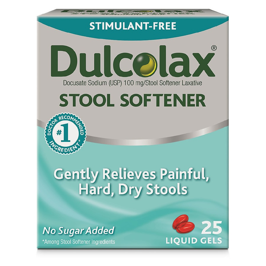 Dulcolax Stool Softener Liquid Gels Walgreens
