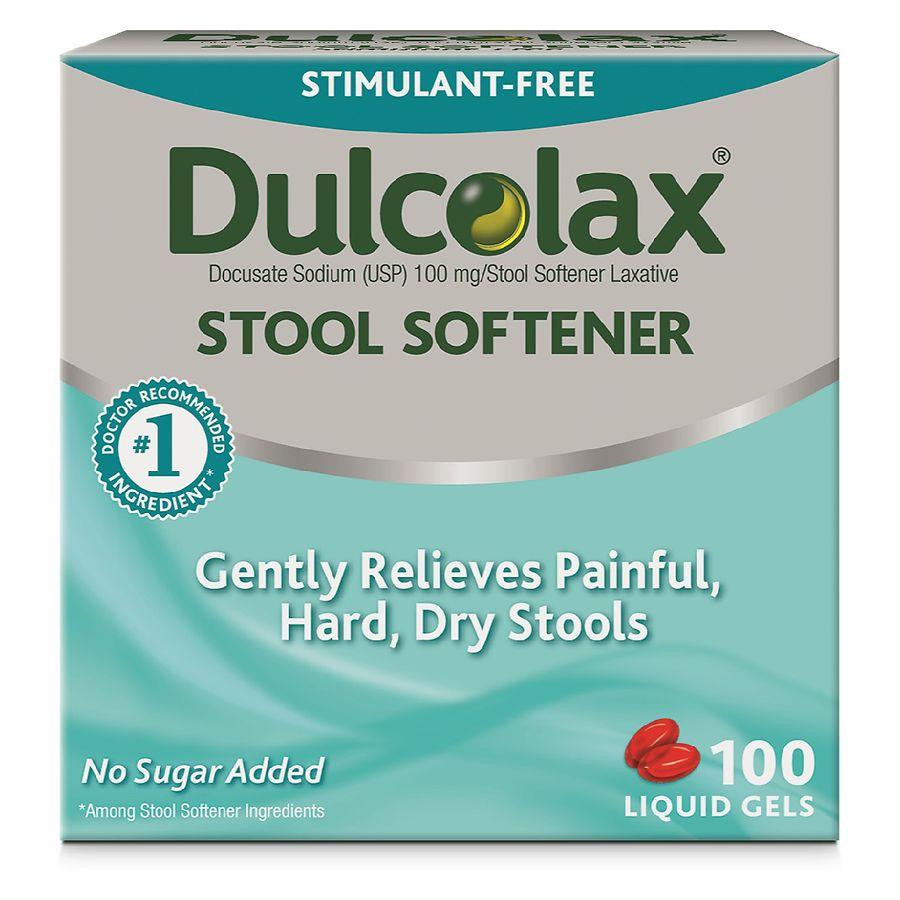 Dulcolax Stool Softener Liquid Gels Walgreens