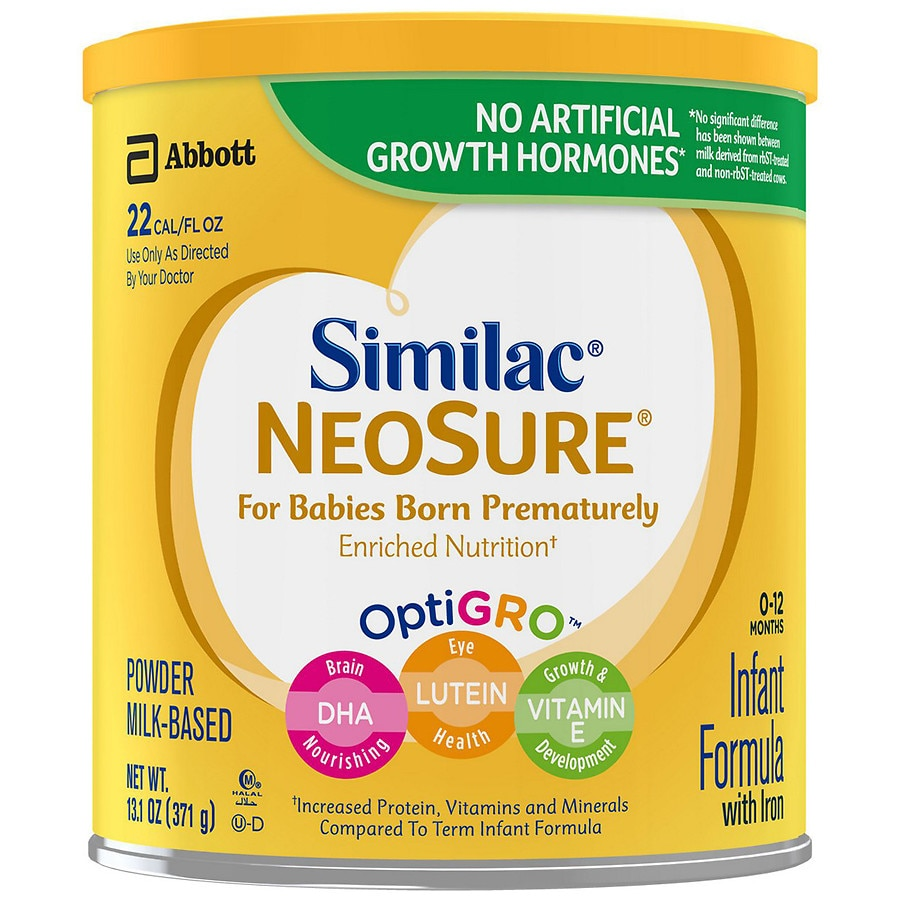 Similac Neosure Infant Formula With Iron Powder 13 1 Oz