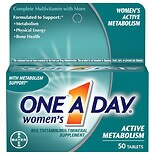 One A Day Women's Active Metabolism Multivitamin/ Multimineral Supplement Tablets