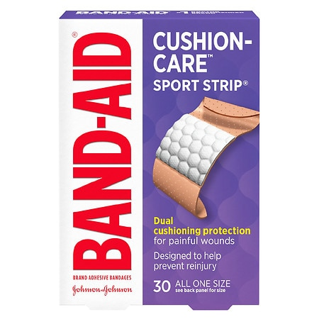 Band-Aid Sport Strip Bandages Extra Wide - 30 ea
