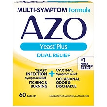AZO Yeast Infection Symptom Treatment Tablets