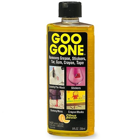 Sticker Adhesive Remover From Paint