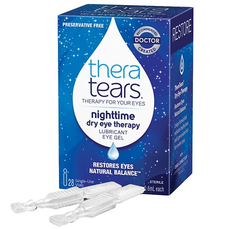 TheraTears Nighttime Dry Eye Therapy Lubricant Eye Gel - 0.57 oz. x 28 pack