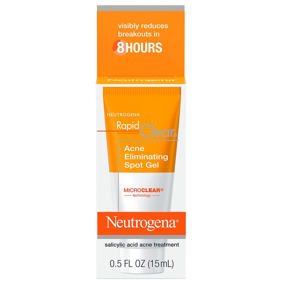 Neutrogena Rapid Clear Acne Eliminating Spot Treatment Gel Walgreens