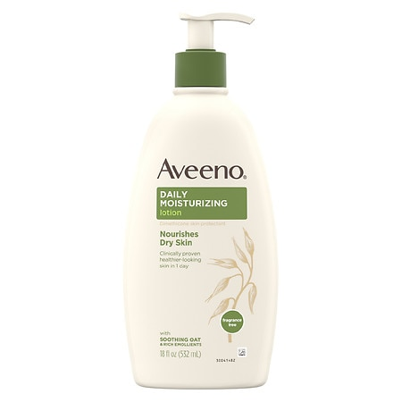 Aveeno Daily Moisturizing Lotion With Oat For Dry Skin - 18 fl oz