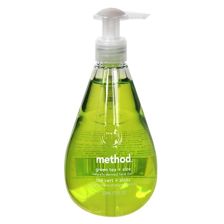 Method Hand Wash Liquid Green Tea + Aloe - 12 fl oz
