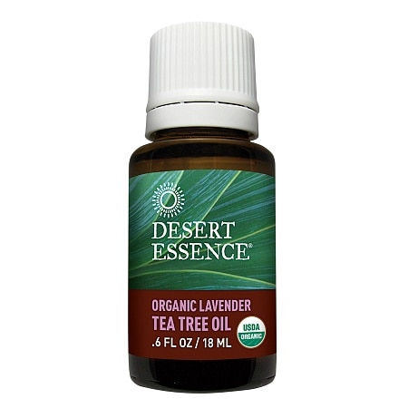 Desert Essence Organic Lavender & Tea Tree Oil - 0.6 fl oz