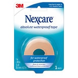 Nexcare Tape, Absolute Waterproof Foam 1 x 180 inches (5yd)