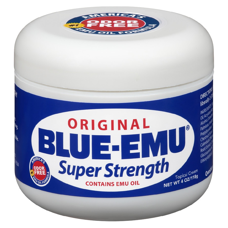 Blue-Emu Original Super Strength Cream Odor Free4.0oz