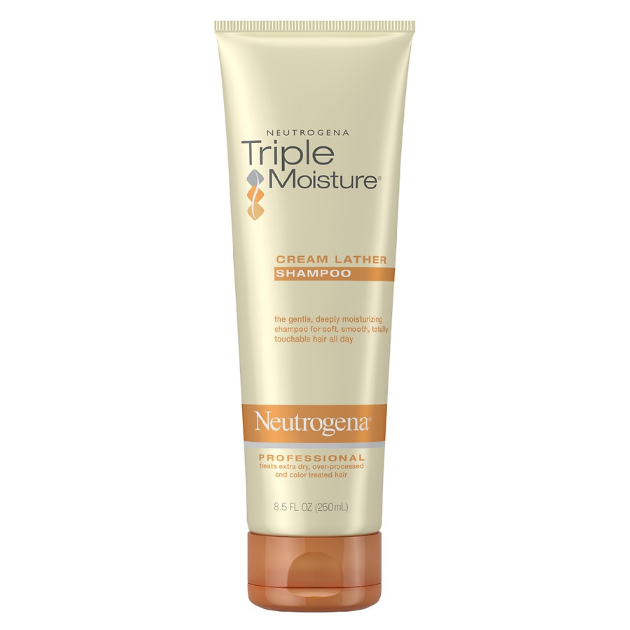 Neutrogena Triple Moisture Professional Cream Lather Shampoo Walgreens