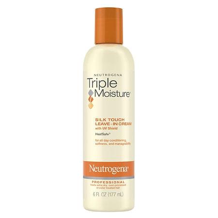 Neutrogena Triple Moisture Silk Touch Leave-In Hair Cream - 6 fl oz
