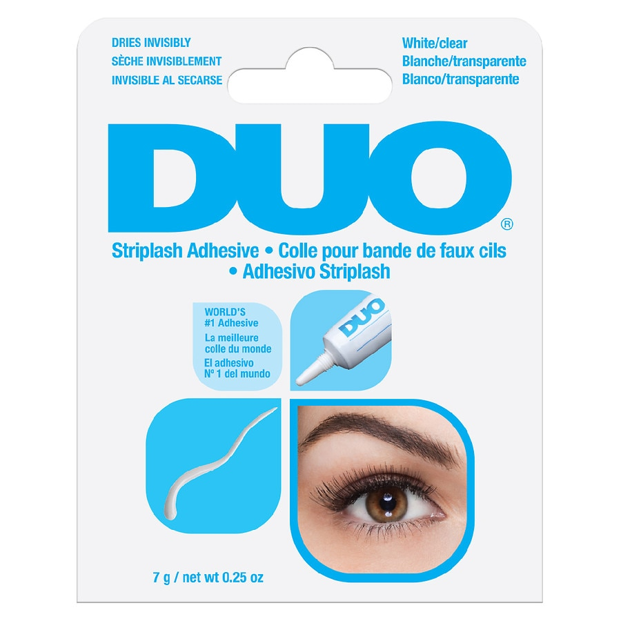 367c89bf4cb Duo Eyelash Adhesive, Clear-White | Walgreens