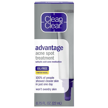 Clean & Clear Advantage Advantage Acne Spot Treatment - 0.75 fl oz
