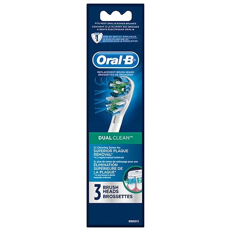 Oral-B Professional Care Dual Clean Replacement Brush Heads